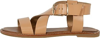Inuovo Womens Shoes Sandal Low Leather Mink 423075 Beige Size: 5 UK