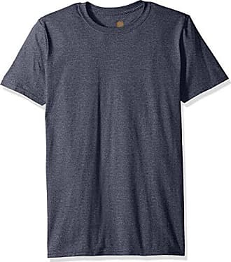 Gold Toe Mens Crew Neck T-Shirt, Navy Heather, Large