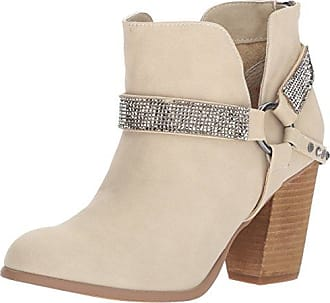 Not Rated Womens Norman Ankle Bootie, Cream, 7 M US