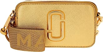 Marc Jacobs Cross Body Bags - Snapshot DTM Metallic Gold - gold - Cross Body Bags for ladies