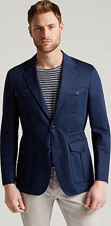 Hackett Mens Safari Cotton Jacket | Size 40Regular | Navy