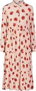 Pieces Blumenmohn rosa Pcdinah Kleid - xlarge