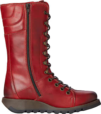 FLY London Womens Ster768fly Boots, Red (Red), 2.5 UK (35 EU)