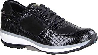 Xsensible Chelsea Black Patent (Black) - Lace-Up Shoes - Womens Shoes Comfortable Lace-Up Shoes, Black, Leather Black Size: 8.5 UK