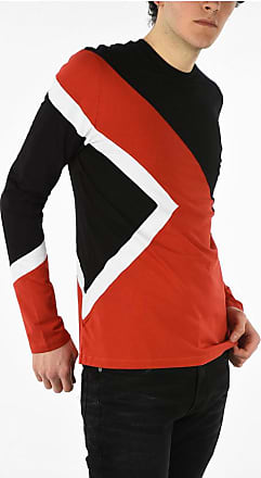 Neil Barrett Stretchy Cotton ICONIC MODERNIST Long Sleeve T-shirt size Xs