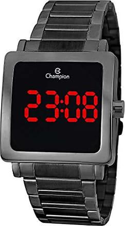 Champion Relógio Champion Digital Preto Quadrado Unissex Ch40197d