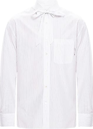 Lanvin Striped Shirt Mens White