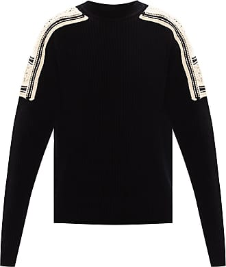 Jil Sander Round Neck Sweater Mens Black