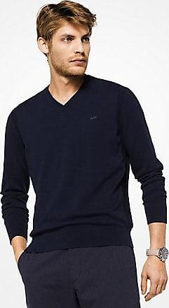Michael Kors Mens Cotton V-Neck Pullover