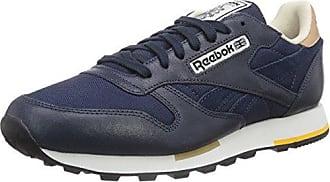 Damen Hellblau reebok Classic Leather Sneaker Schuhe