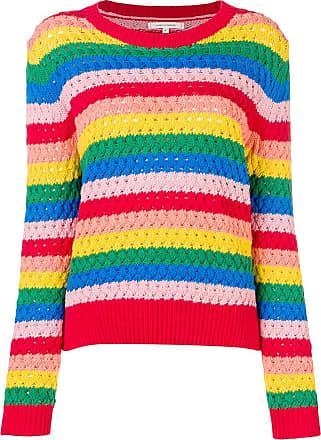 Chinti and Parker Suéter de crochê e tricô - Vermelho