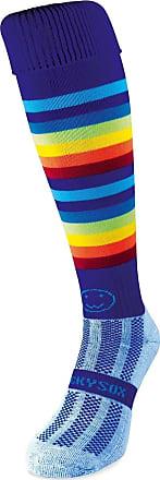 Wackysox Rugby Socks, Hockey Socks - Razzle Dazzle Rainbow Sports Socks