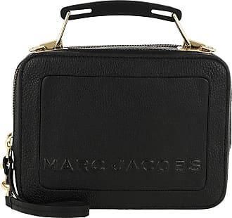 Marc Jacobs The Box 20 Shoulder Bag Leather Black Umhängetasche schwarz