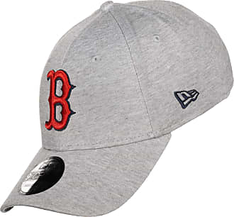 New Era 9Forty Jersey Ess Red Sox CapEra Baseball Cap Curved Brim (One Size - Light Grey)