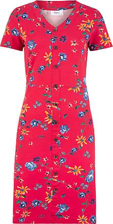 7f074edf1a1fcf Bonprix Dames jurk korte mouw in rood - bpc bonprix collection