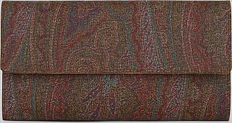 Etro Paisley Wallet, Woman, Brown