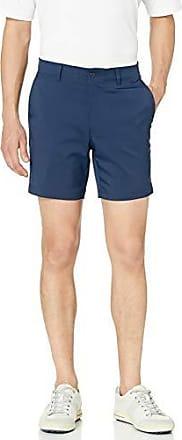 PGA TOUR Short de golf à devant plat pour homme avec ceinture active, iris noir, taille 42, entrejambe de 7 pouces