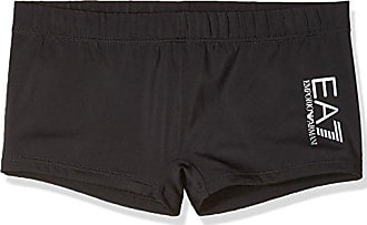 5043a469ed Emporio Armani EA7 Mens Sea World Swimwear Core Trunks, Black, X-Small