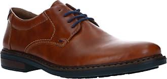 Rieker Mens 17619 Oxford Flat, Brown, 8.5 UK