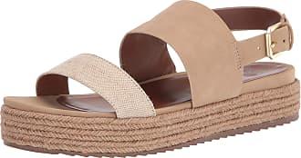 Naturalizer womens Patience Platform Espadrille Sandals Brown Size: 7.5 Wide