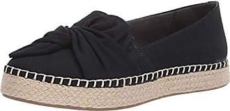 Dr. Scholls Womens Found Shoe, Black Washed Canvas, 9.5 M US