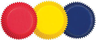 Wilton 415-987 BAKECUPS PRIMARY ASST 75CT, Assorted Colors