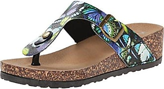 Dirty Laundry by Chinese Laundry Womens Track N Field Platform Sandal, Blue/Multi, 9 M US