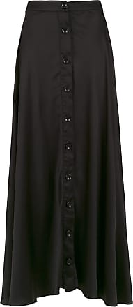 Amir Slama silk long skirt - Black