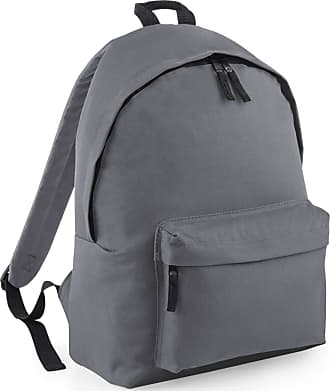 BagBase Maxi Fashion 22 Litre Backpack - Black, Navy or Grey - Black