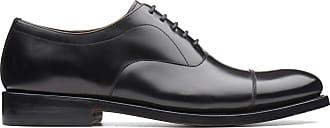 Bostonian Mens Black Leather Bostonian Rhodes Cap Size 10.5