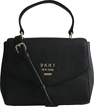 DKNY Whitney Mini Leather Satchel Handbag with Removable Cross Body/Shoulder Strap