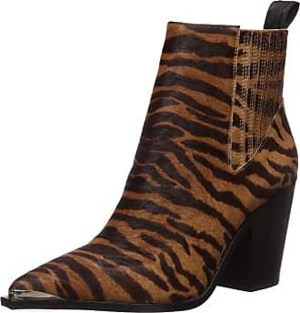 Kenneth Cole Womens WEST Side Bootie RB Uniform Dress Shoe, Brown Multi, 5.5 UK