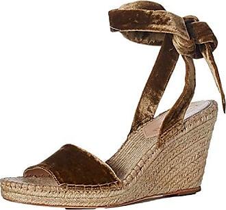 b516832659 Loeffler Randall Womens Harper-CVL Espadrille Wedge Sandal Sienna 10 Medium  US