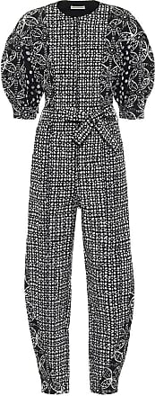 Ulla Johnson Sabra printed denim jumpsuit