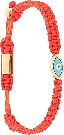 Nialaya evil eye rope bracelet - Red