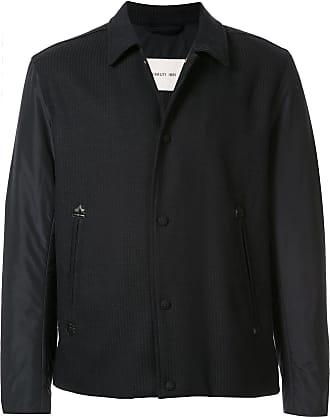 Cerruti wool shirt jacket - Blue