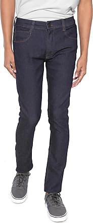 Hawaiian Dreams Calça Jeans HD Skinny Pespontos Azul