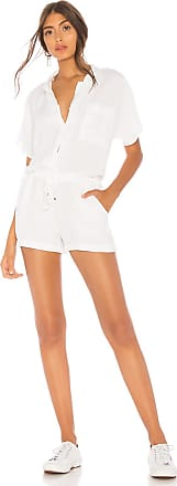 Young Fabulous & Broke Jacobson Romper in White