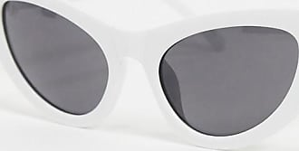 Jeepers Peepers Occhiali da sole cat-eye bianchi-Bianco