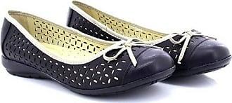 Boulevard Julia Perforated Bow Ballerina Comfort Sock Summer Shoes - Beige PU, Ladies UK 5 / EU 38