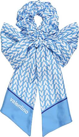 Valentino Exclusive to Mytheresa - Printed silk-twill scrunchie
