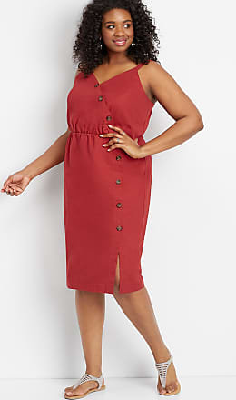 Maurices Plus Size - Linen Button Front Dress