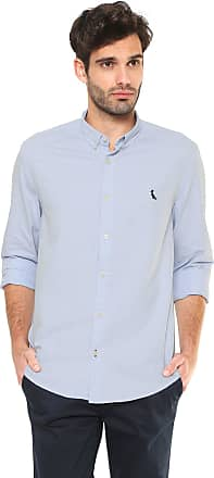 Reserva Camisa Reserva Oxford Reta Azul