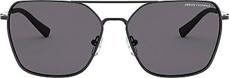 A|X Armani Exchange Óculos de sol irregular - Cinza