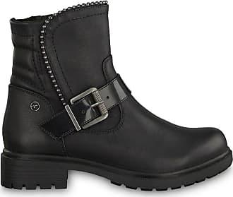 a0f7b9f7c37 Tamaris Boots motardes Hélios - TAMARIS - Noir