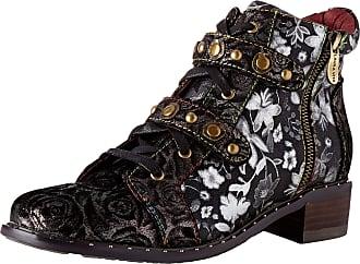 Laura Vita Womens Emcmao 02 Ankle Boots, Noir Noir, 7 UK