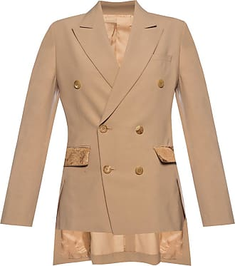Undercover Blazer With Notched Lapels Womens Beige