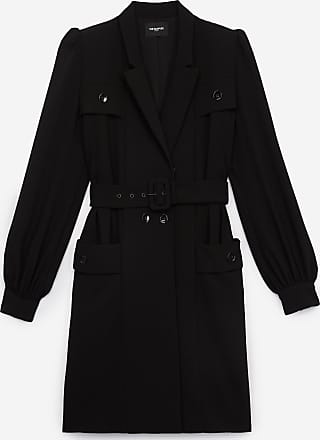 The Kooples Black tailored formal rock-style dress - WOMEN