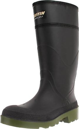 Black BAFFIN Men/'s MARSH MID Low Rain BOOTS