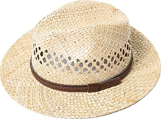JP1880 Mens Big & Tall Trendy Natural Straw Hat Straw XL 711453 32-XL